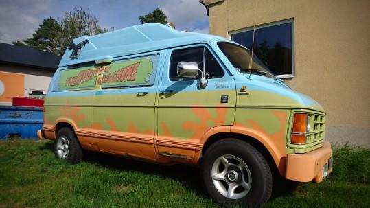 Vad gör Scooby-Doo, Shaggy och mysteriegänget i Brösarp?