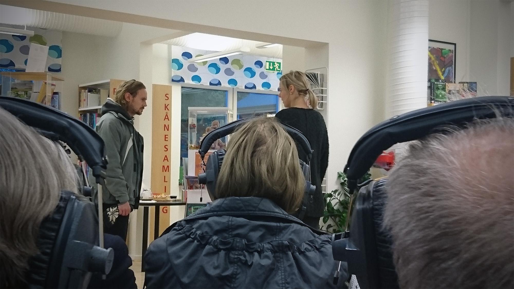 Suggestiva thrillern Gallring pågår på Brösarps bibliotek.