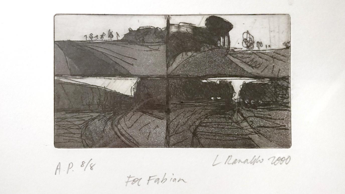 Lee Ranaldos litografi 4 Hwy Views.