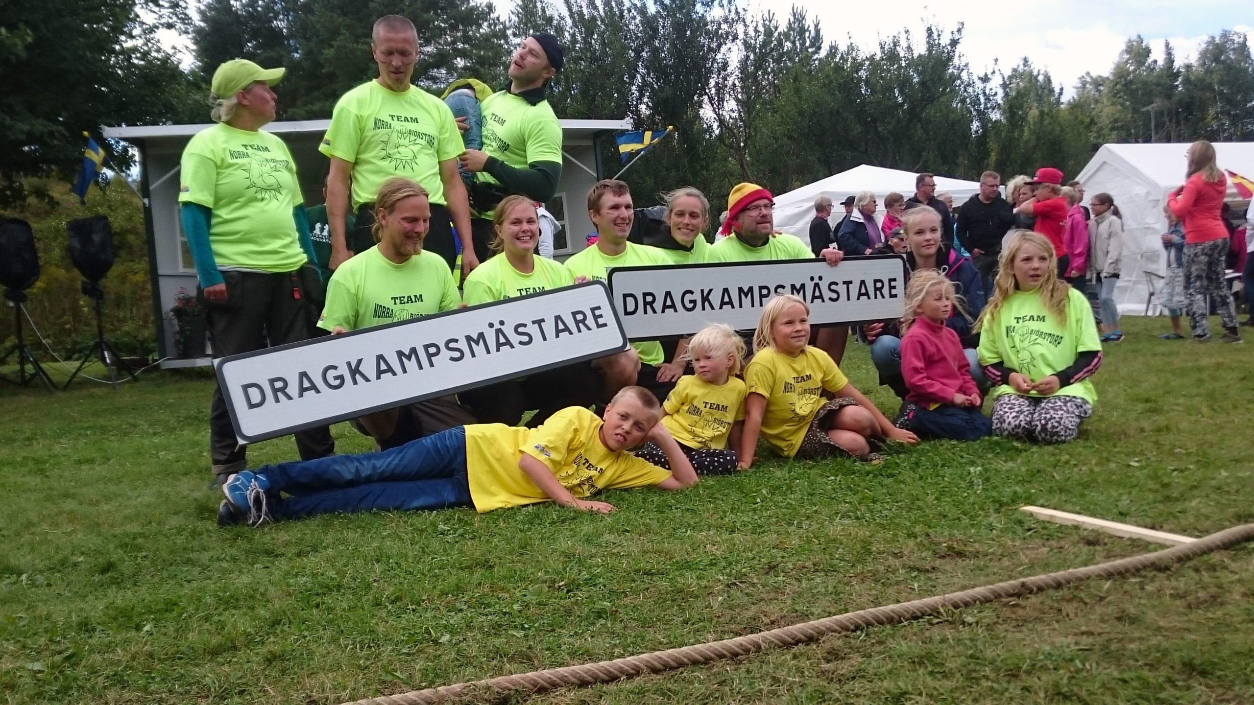Dragkampsmästare 2015 - Norra Björstorp.