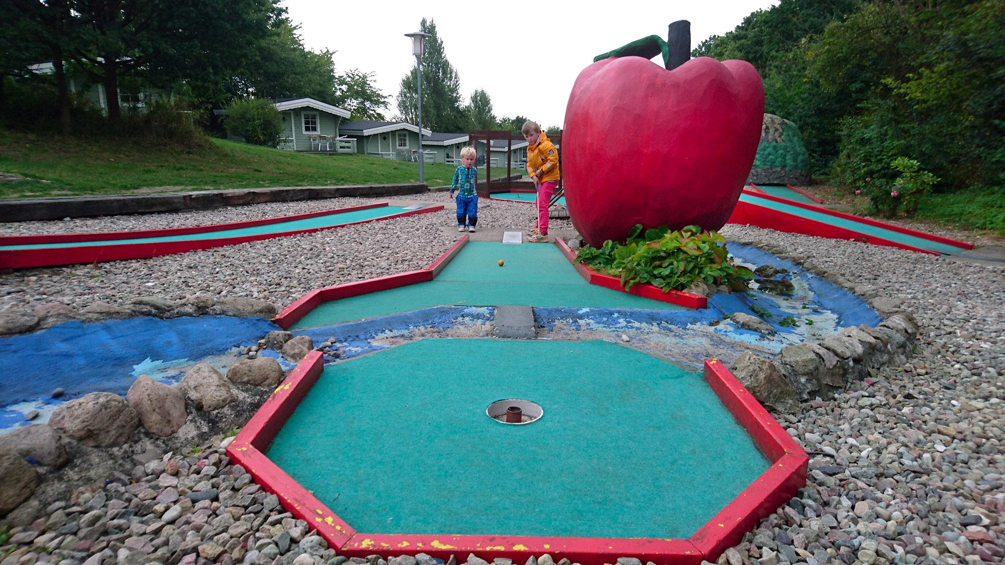 The big apple finns på Österlen och inte amerikanska östkusten.