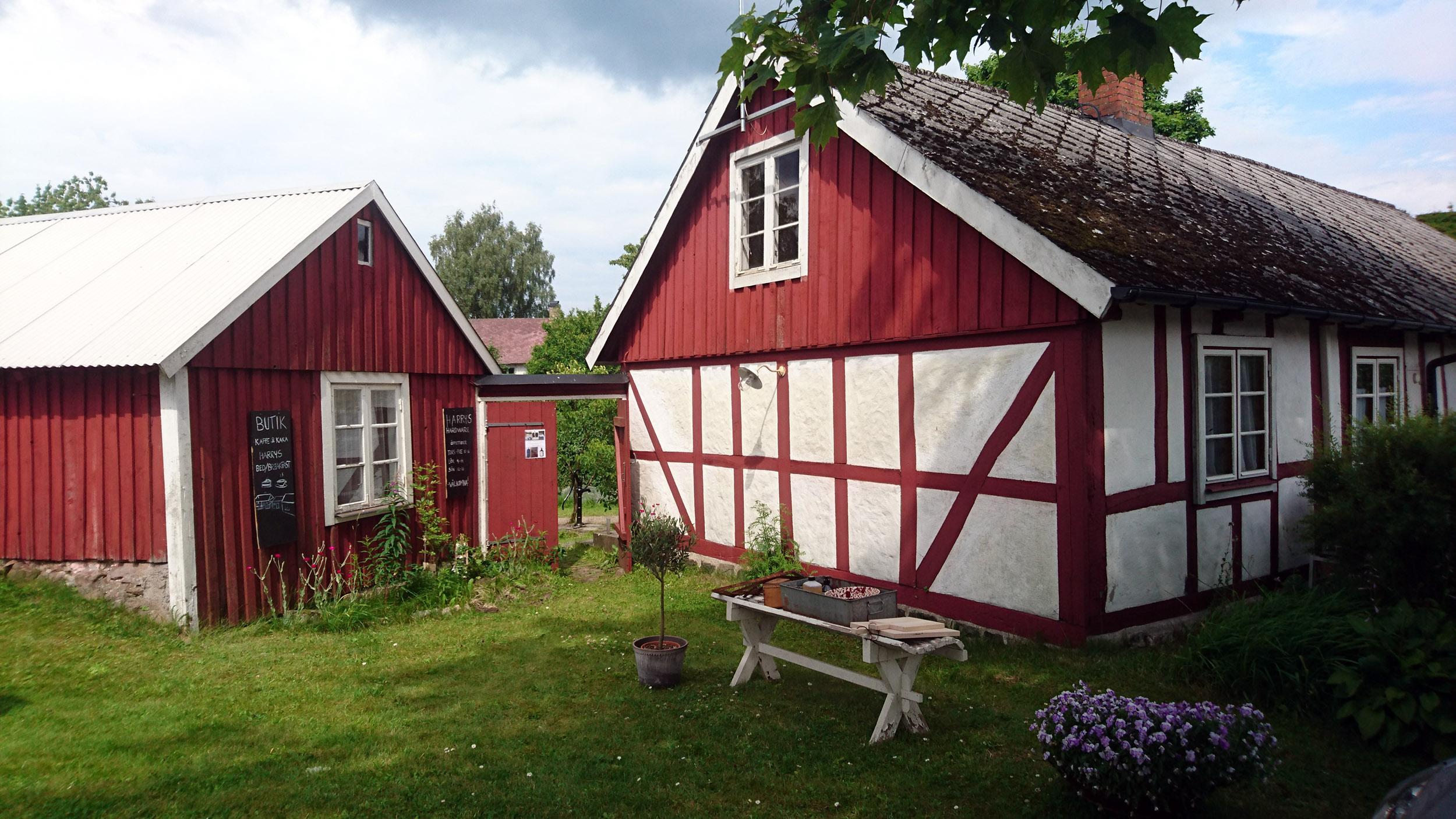 Harrys Hardware i Norra Björstorp.